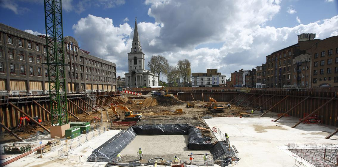 Civil Engineering & Substructure Works in London