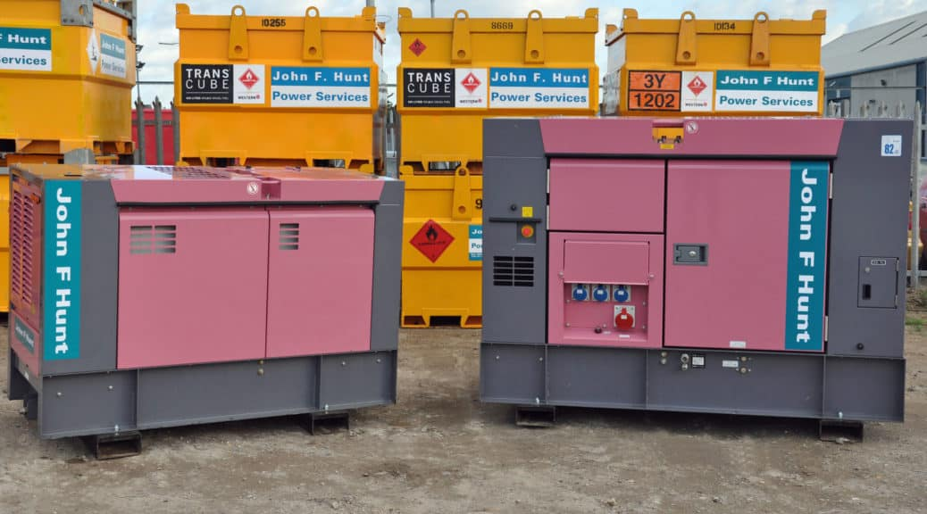 silent generator hire