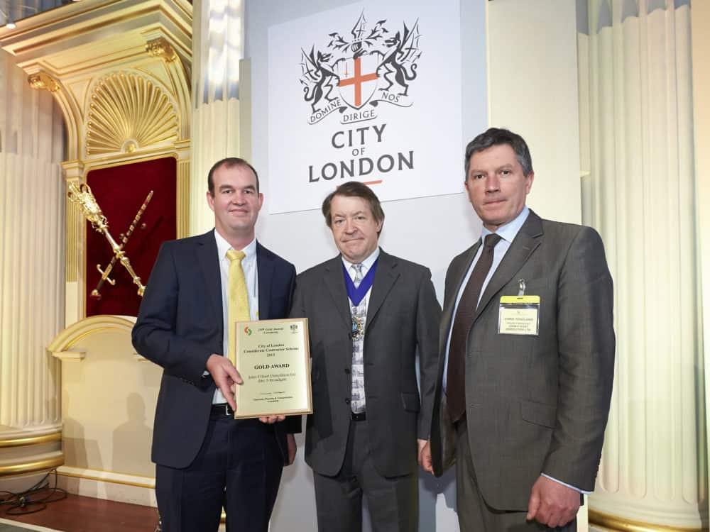 broadgate John F Hunt Award Winning London Demolition Company
