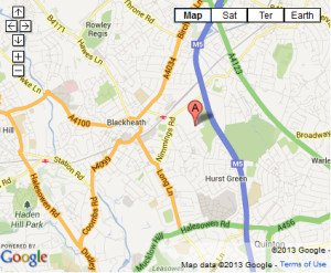 HALESOWEN Map