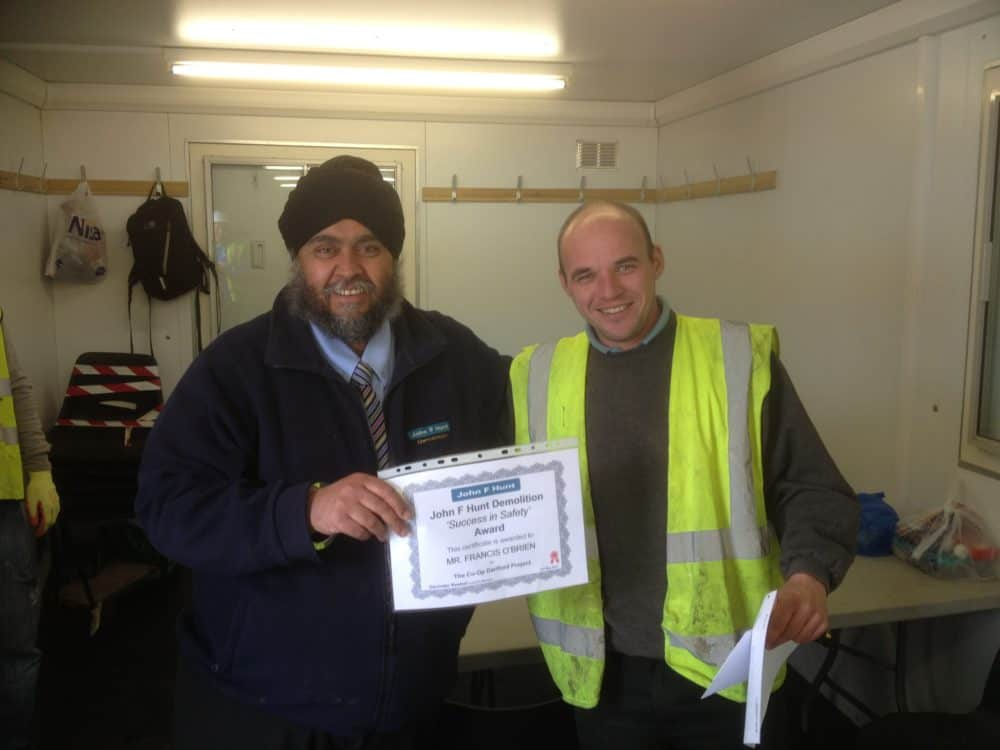 Demolition On Site Safety Award