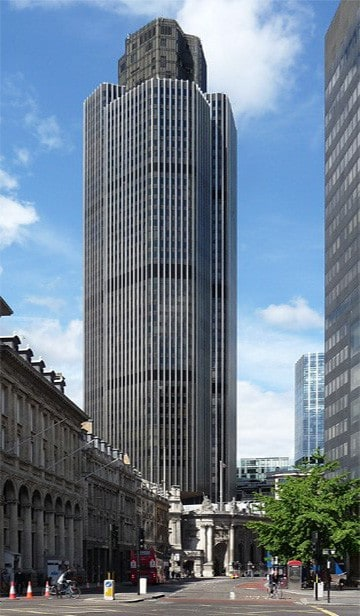John F Hunt Limited Move Offices To Tower 42