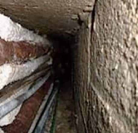 Asbestos Removal from concealed ducts