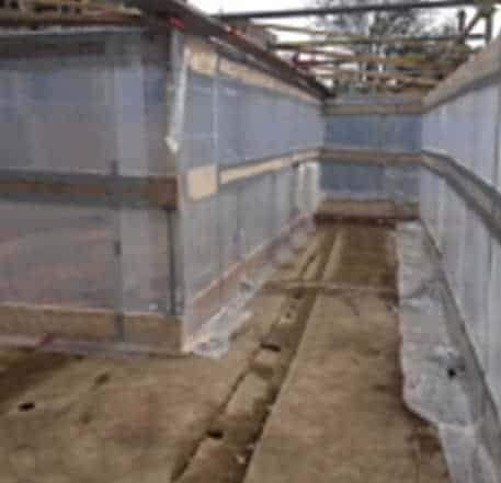 Asbestos Removal - pipe work